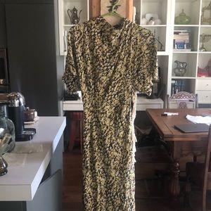 Brand new Stine Goya meadow silk dress